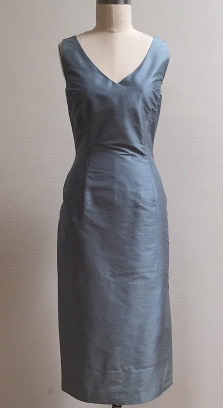 Blue dress to wear to a wedding
