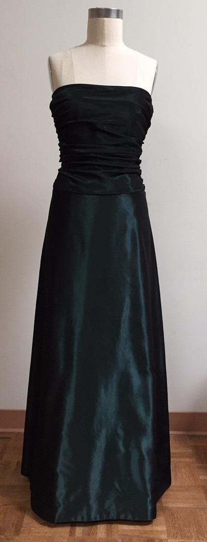Siri teal gown